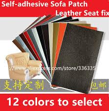 reparation canapé cuir cpam gratuite 3 pcs auto adhésif autocollant en cuir diy