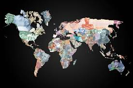 Pictures Of World Map by This Map Of The World By Currency Is Stunning Indy100