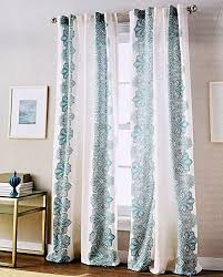 Teal Window Curtains Peri Home Turquoise Window Curtains Shalimar Floral Paisley