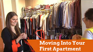 tips for moving into your first apartment youtube