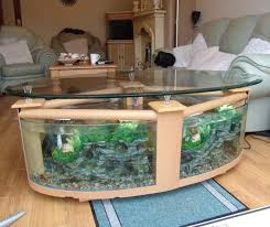 Fish Tank Living Room Table - coffee table aquarium for sale elegant fish tank coffee table for