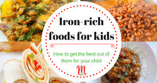iron rich foods for kids mummy u0027s yum