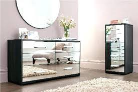 mirror tables for living room mirrored desk with drawers 5 drawer mirrored desk home accent