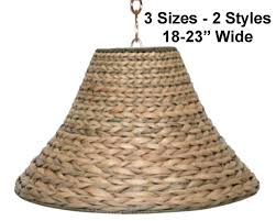 Wicker Light Fixture by Sea Grass Wicker Rattan Pendant Light Swag Lamp Hanging Lamp