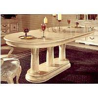 napa valley oval pedestal dining table top and base from bernhardt