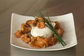 cuisine girolles recette de oeuf poché et girolles au vinaigre facile et rapide