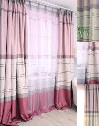 Pink And Purple Curtains And Blackout Eco Friendly Living Room Pink Purple Home Trends Curtains