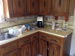 Kitchen Cabinet Finish Refaced Cabinet Finish Coming Off The Home Depot Community