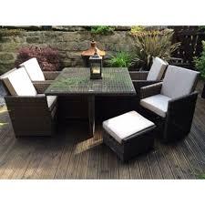 Patio Furniture Dining Set Radeway Wicker Furniture Dining Set Garden Outdoor Sets