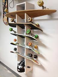 Skateboard Decorating Ideas Need To Make This For My Garage But I Have A Couple More Boards