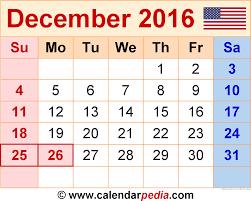 december 2016 calendar holidays 2017 printable calendar