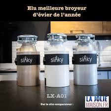 broyeur d evier pour cuisine broyeur d évier de marque française sinky lx a01