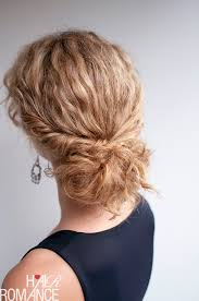 step bu step coil hairstyles curly hairstyle tutorial the twist tuck bun hair romance