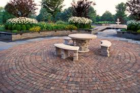 Basket Weave Brick Patio by Circular Brick Patio Designs The Home Design Brick Patio Designs