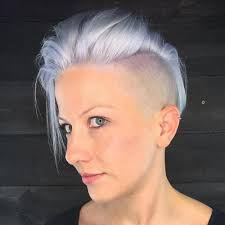 short white hair 40 hair сolor ideas with white and platinum blonde hair
