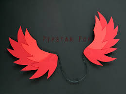 how to make wings for halloween red fire pegasus winged horse costume cosplay wings for all