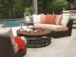 Curved Patio Sofa Likeable Curved Outdoor Sofa Decorating Patio Sectional