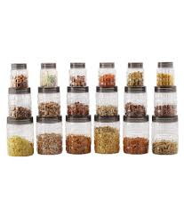 clear kitchen canisters containers buy containers online at best prices in india on snapdeal