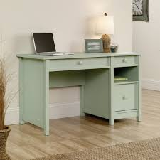 Sauder Harbor View Computer Desk With Hutch Antiqued White by Unique Office Chair Ideas Modern Computer Desk Designs Green White