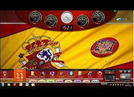 windows 7 desktop themes united kingdom seven windows 7 football soccer themes spain england netherlands