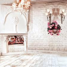 Pink Brick Wall 2017 Indoor Brick Wall Photography Wedding Backdrop Chandelier