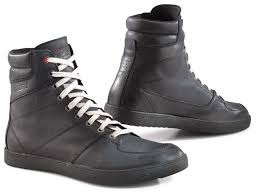 casual biker boots tcx x wave waterproof shoes revzilla