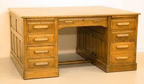 Oak Desk Type Antique Oak Partners Desk Antique Furniture