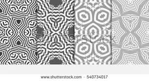 set lace seamless pattern floral ornament stock vector 561684088