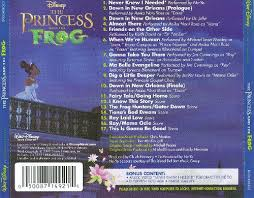 princess frog original songs score randy