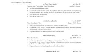 resume for student teachers exles of autobiographies objective impressive musicesume exle minister for college