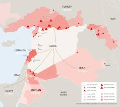 World Map Syria by The Syrian Civil War A Modern Conflict U2013 Mark Lalor