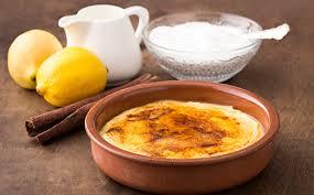 dessert portugais cuisine leite creme crème dessert portugaise wecook