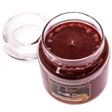yankee candle reg kitchen spice trade medium jar candle home