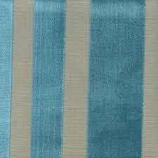 Velvet For Upholstery Cayman Laguna Blue Cut Velvet Vertical Stripe Upholstery Fabric