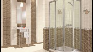 Bathroom Showers Designs by Shower Designs With Glass Tile For Bathroom Youtube