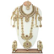 wedding jewellery sets bridal jewellery sets at rs 3552 unit s bridal jewelry sets