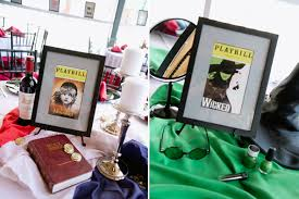 wicked themed events broadway bridal shower socialife