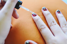how to do ladybug nails 14 steps with pictures wikihow