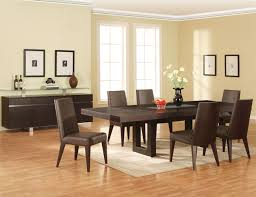 Emejing Dining Room Furniture Modern Images Room Design Ideas - Modern contemporary dining room furniture