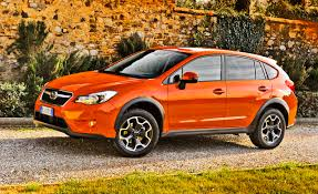 subaru orange crosstrek 2013 subaru xv crosstrek first drive u2013 review u2013 car and driver
