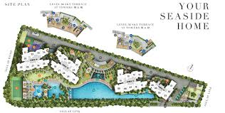 site plan u2013 seaside residences