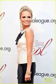 Kristin Chenoweth And Allison Williams by Kristin Chenoweth U0026 Nick Jonas Drama League Benefit Photo