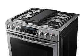 48 Gas Cooktops Samsung Nx58h9500ws 30 Inch Slide In Gas Range With Sealed Burner