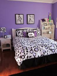 bed frames for girls beautiful tween ideas bedroom with purple floral wallpaper