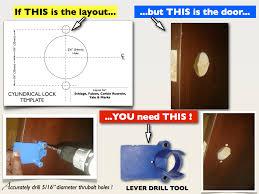 schlage al u0026 nd lever drill tool