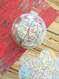 easy decoupage santa s sleigh map ornament craft laundry