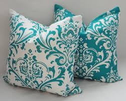 turquoise pillows decorative doherty house decorative