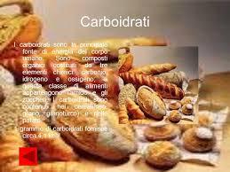 alimenti ricchi di glucidi la nutrizione indice perch礬 ci nutriamo alimenti e cibi ppt