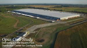 How Big Is 15000 Square Feet by Conagra Foods Distribution Industrial Construction The Opus Group
