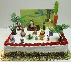 winnie the pooh cake topper winnie the pooh 16 birthday cake topper set